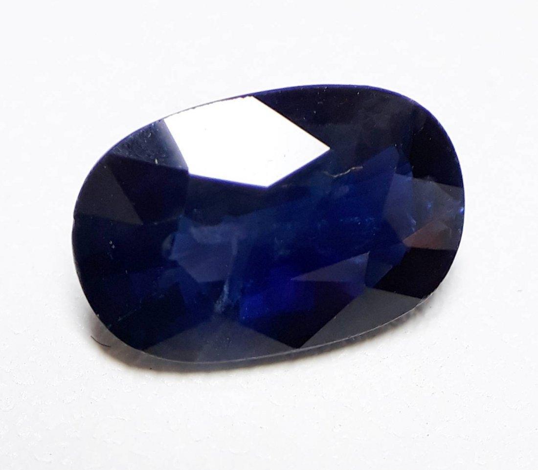 Natural Blue Sapphire - 2.19 ct. - 3