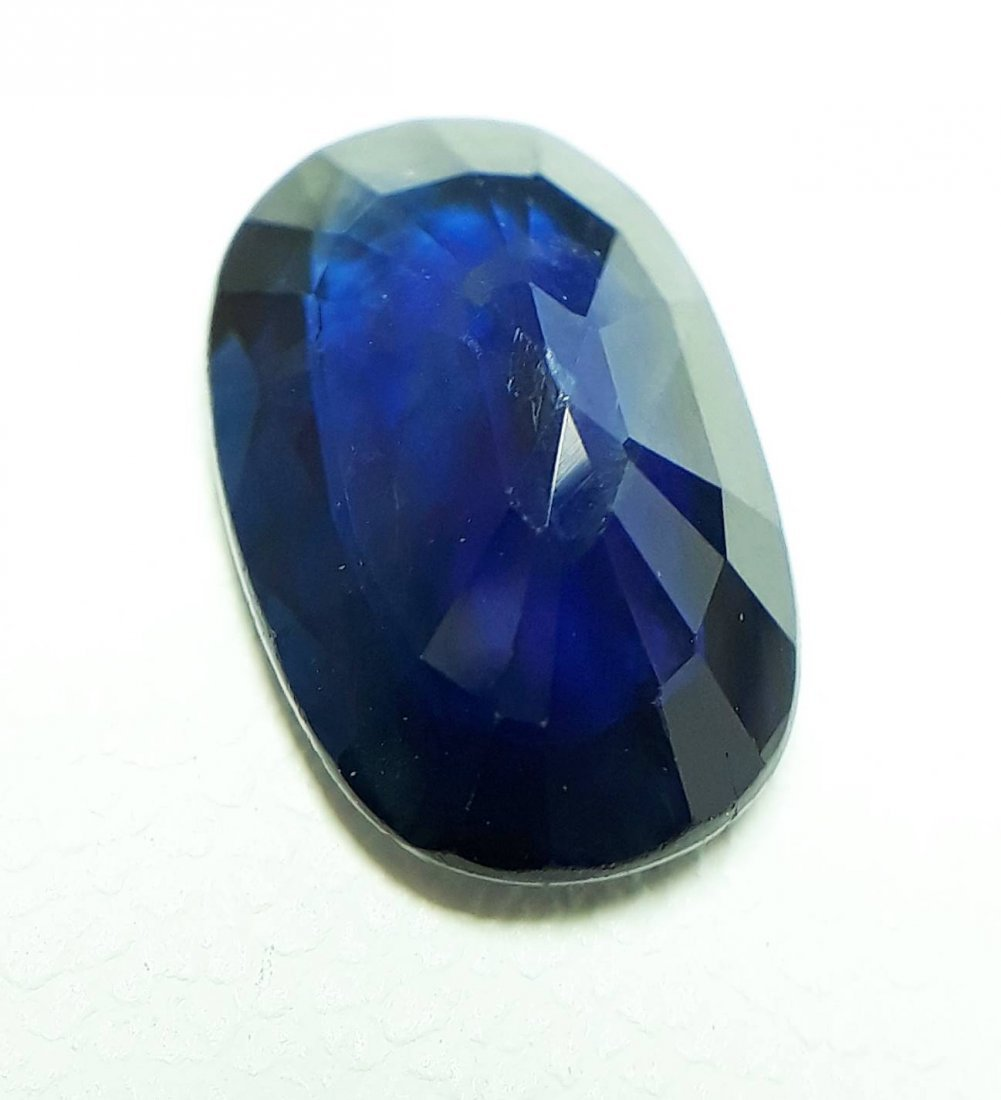 Natural Blue Sapphire - 2.19 ct. - 4