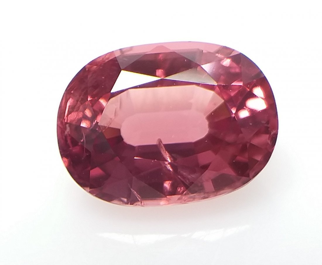 AIGS Certified Natural Spinel Orange-Pink 1.75 ct. - 2