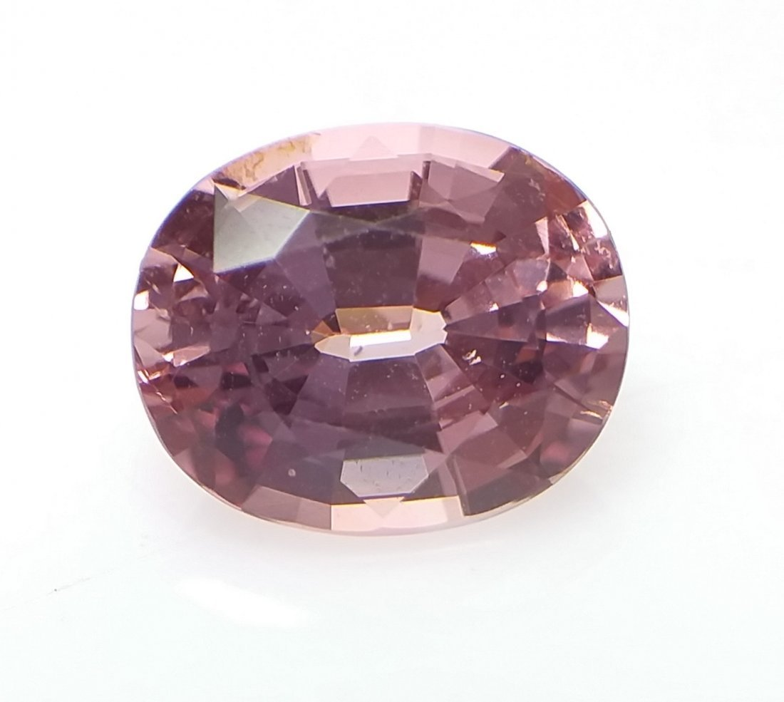 AIGS Certified Natural Spinel Pink-Orange 1.84 ct. - 4