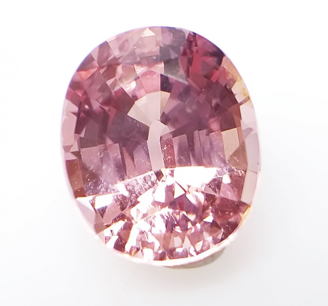 AIGS Certified Natural Spinel Pink-Orange 1.84 ct. - 5
