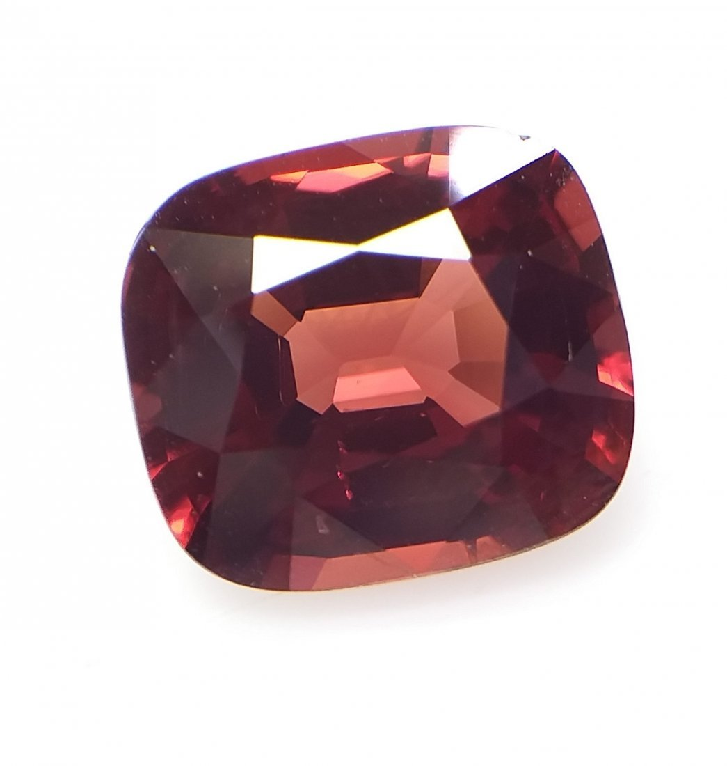 AIGS Certified Natural Spinel Red-Orange 3.08 ct. - 3