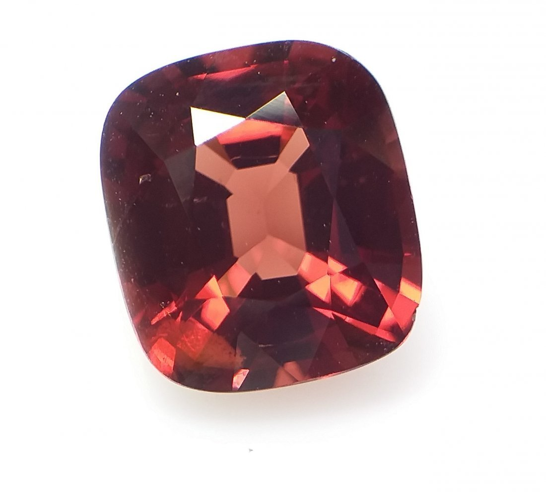 AIGS Certified Natural Spinel Red-Orange 3.08 ct. - 4