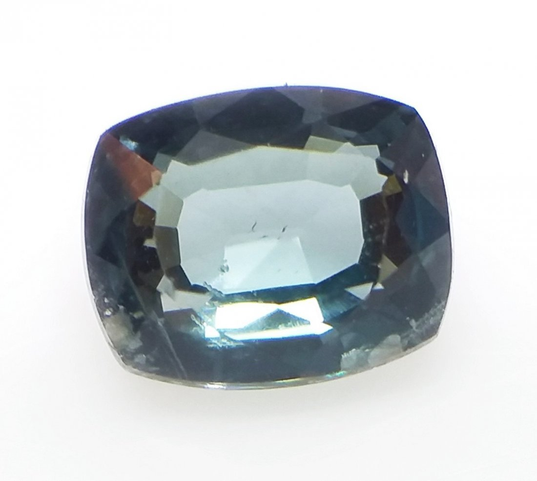 GCI Certified Spinel - 1.2 ct. - Cushion - Blue