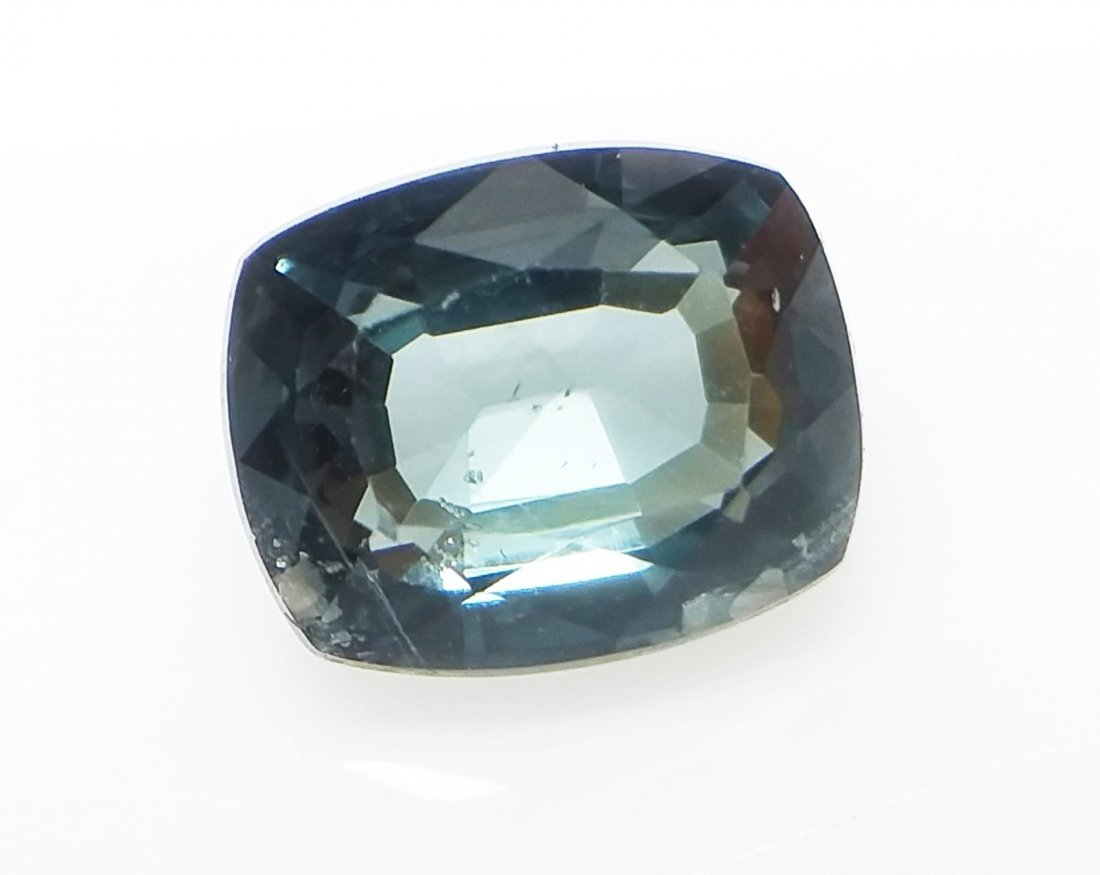 GCI Certified Spinel - 1.2 ct. - Cushion - Blue - 2