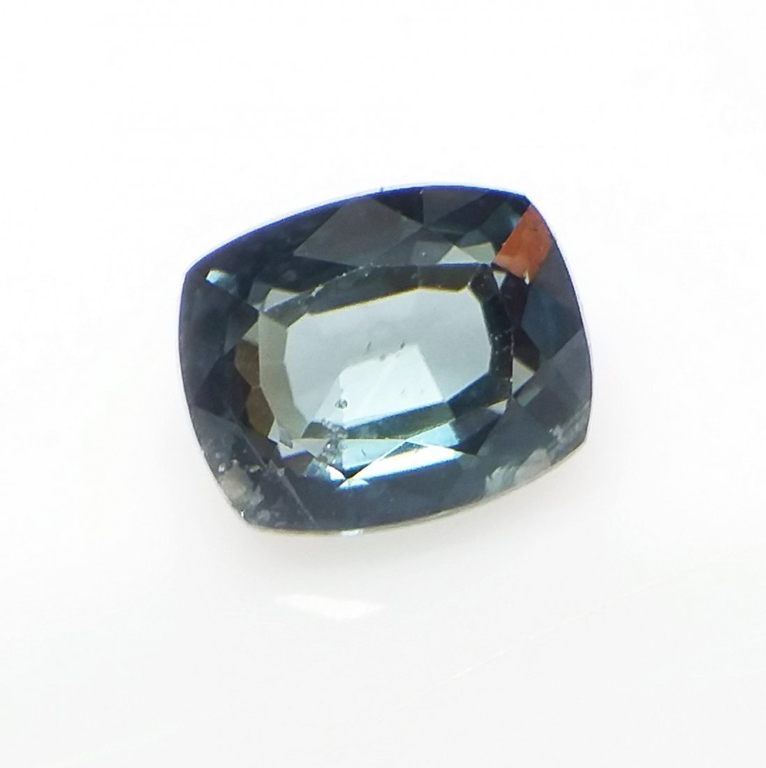 GCI Certified Spinel - 1.2 ct. - Cushion - Blue - 3