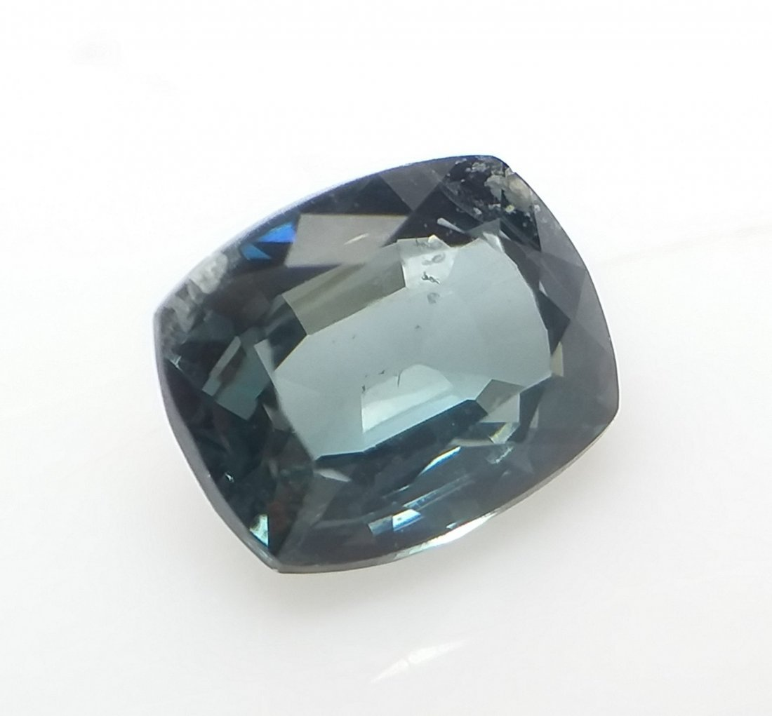 GCI Certified Spinel - 1.2 ct. - Cushion - Blue - 4