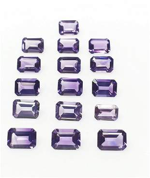 Natural Purple Amethyst 16 Pieces 1191 ct