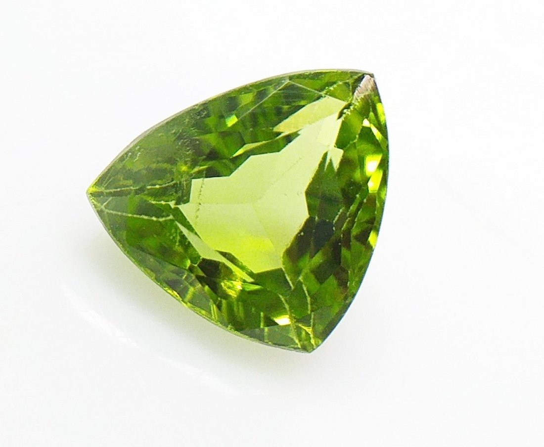 Pakistani Peridot - Green - 2.72 ct. - Triangle Cut