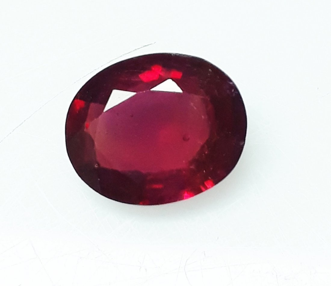 Natural Mozambique Ruby Oval - 2.99 ct.