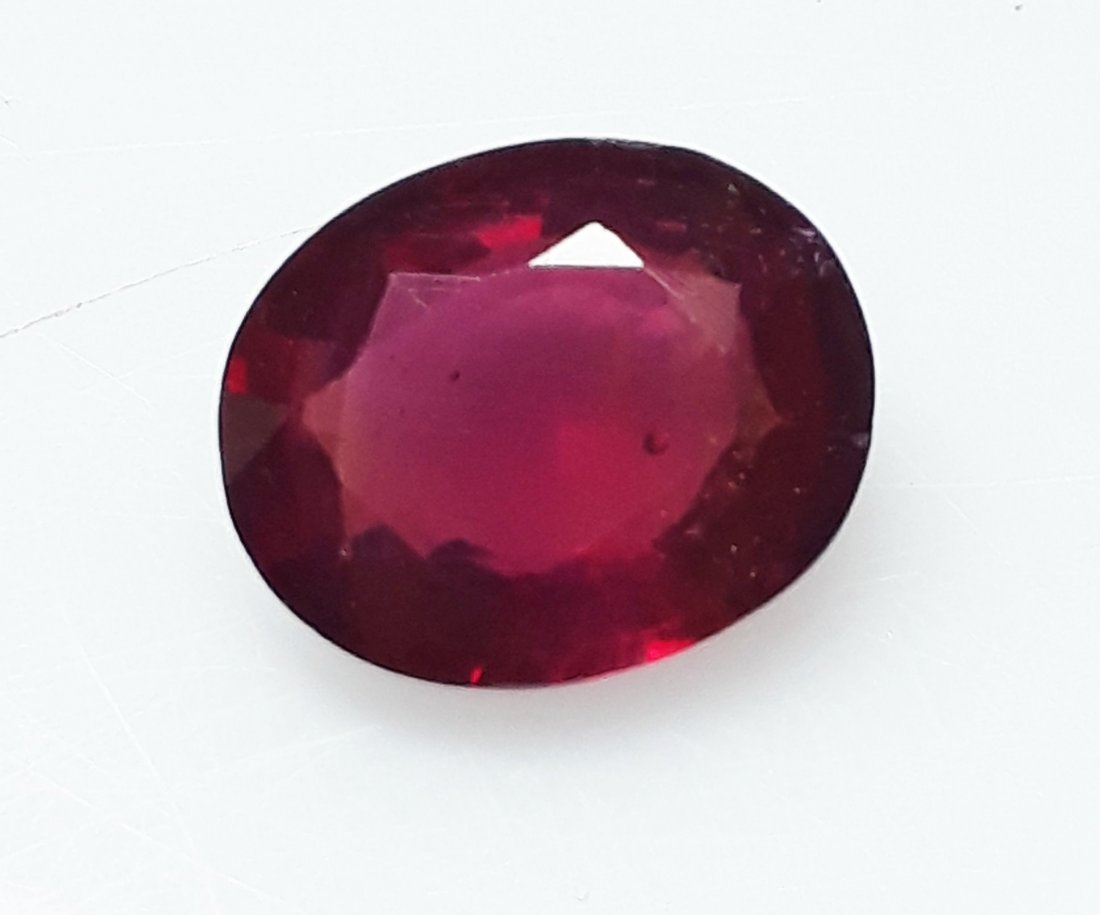 Natural Mozambique Ruby Oval - 2.99 ct. - 3