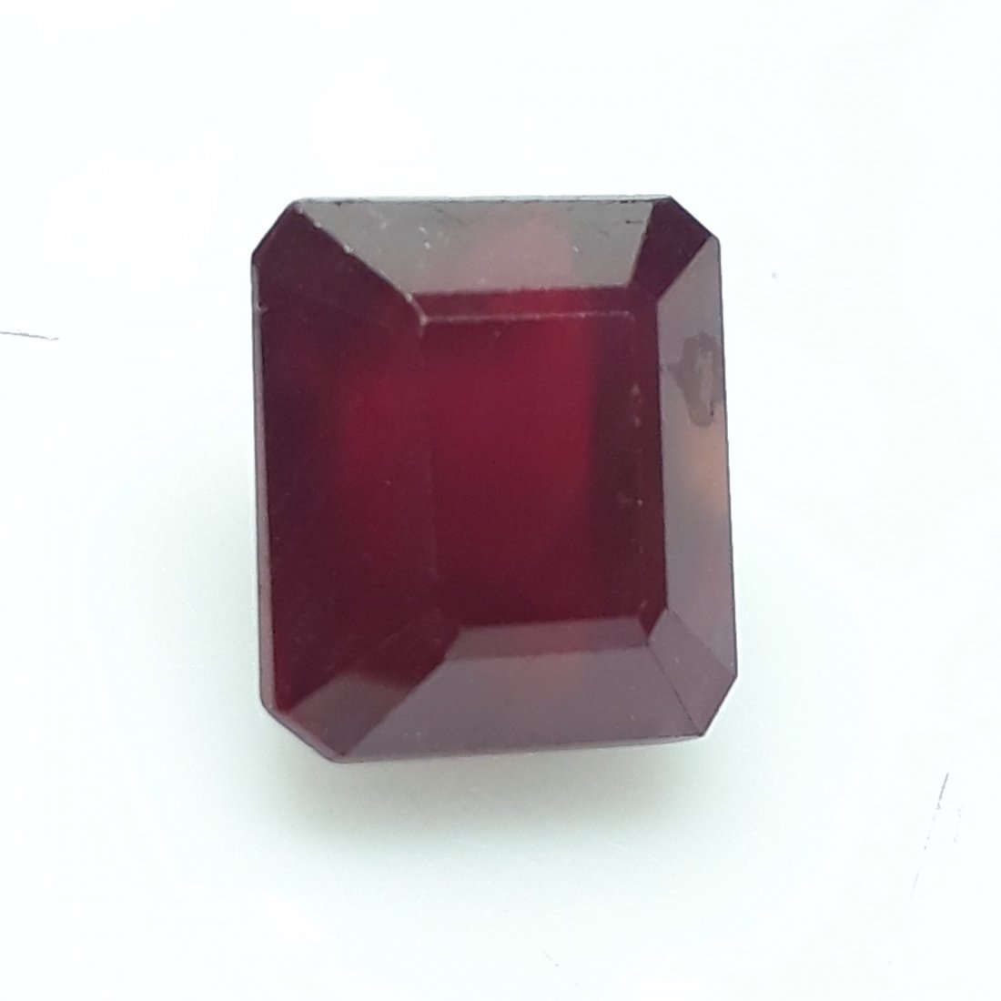 Natural Mozambique Ruby Emerald Cut - 6.18 ct. - 3