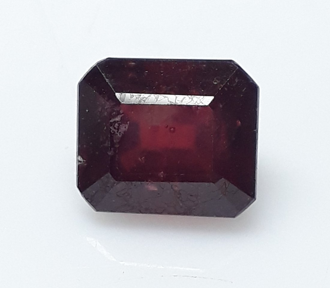 Natural Mozambique Ruby Emerald Cut - 4.93 ct. - 2