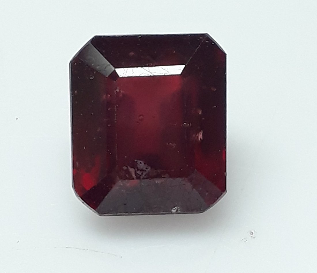 Natural Mozambique Ruby Emerald Cut - 4.93 ct. - 4