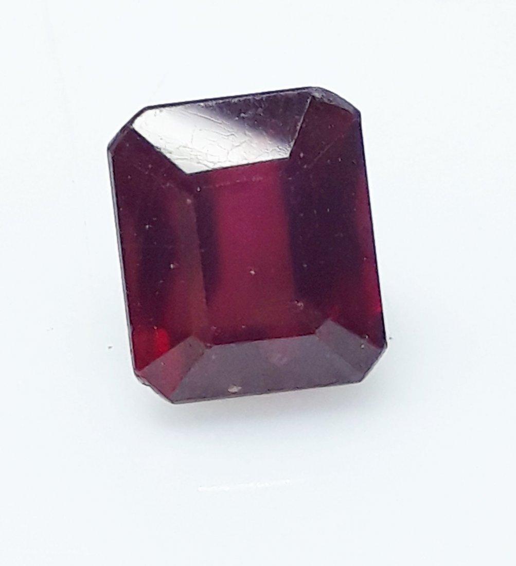 Natural Mozambique Ruby Emerald Cut - 5.45 ct.