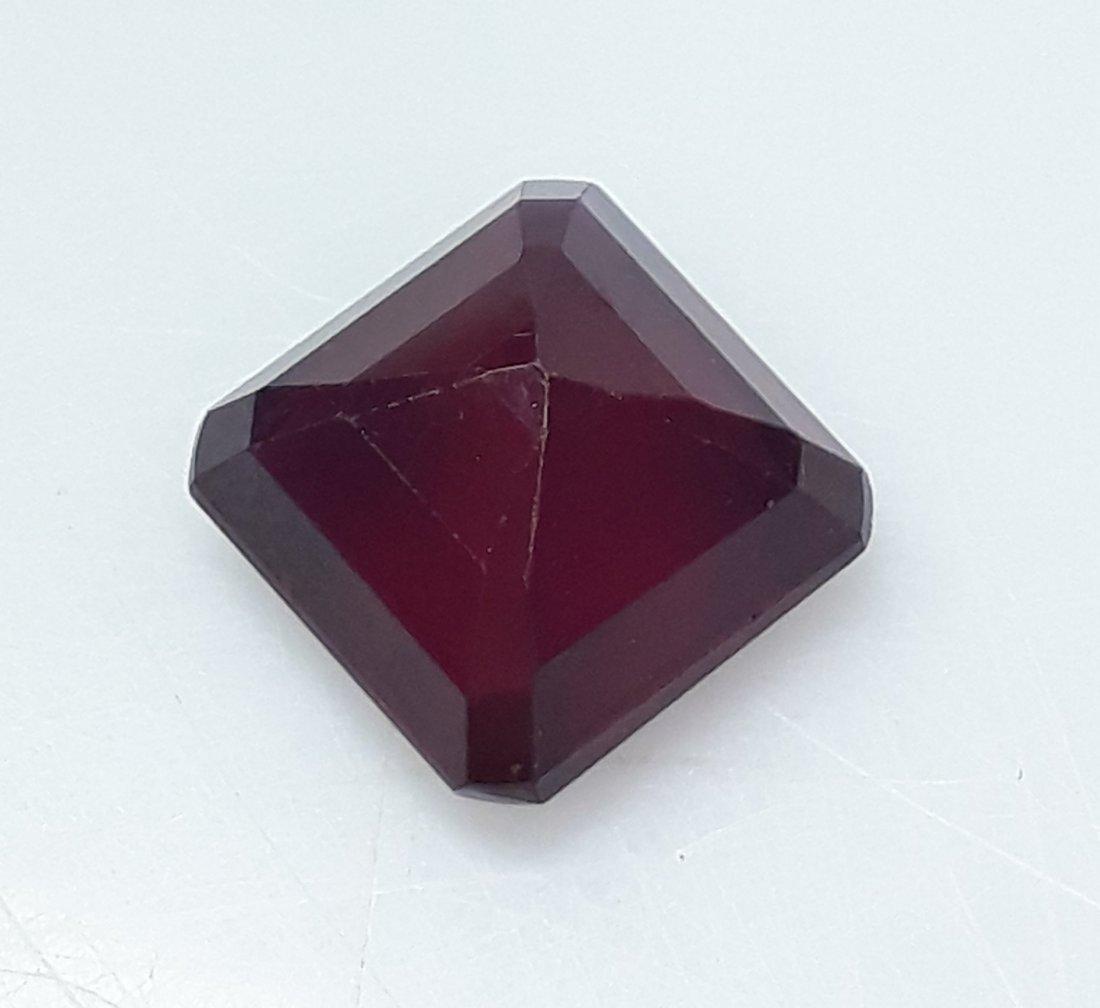 Natural Mozambique Ruby Emerald Cut - 3.58 ct. - 4