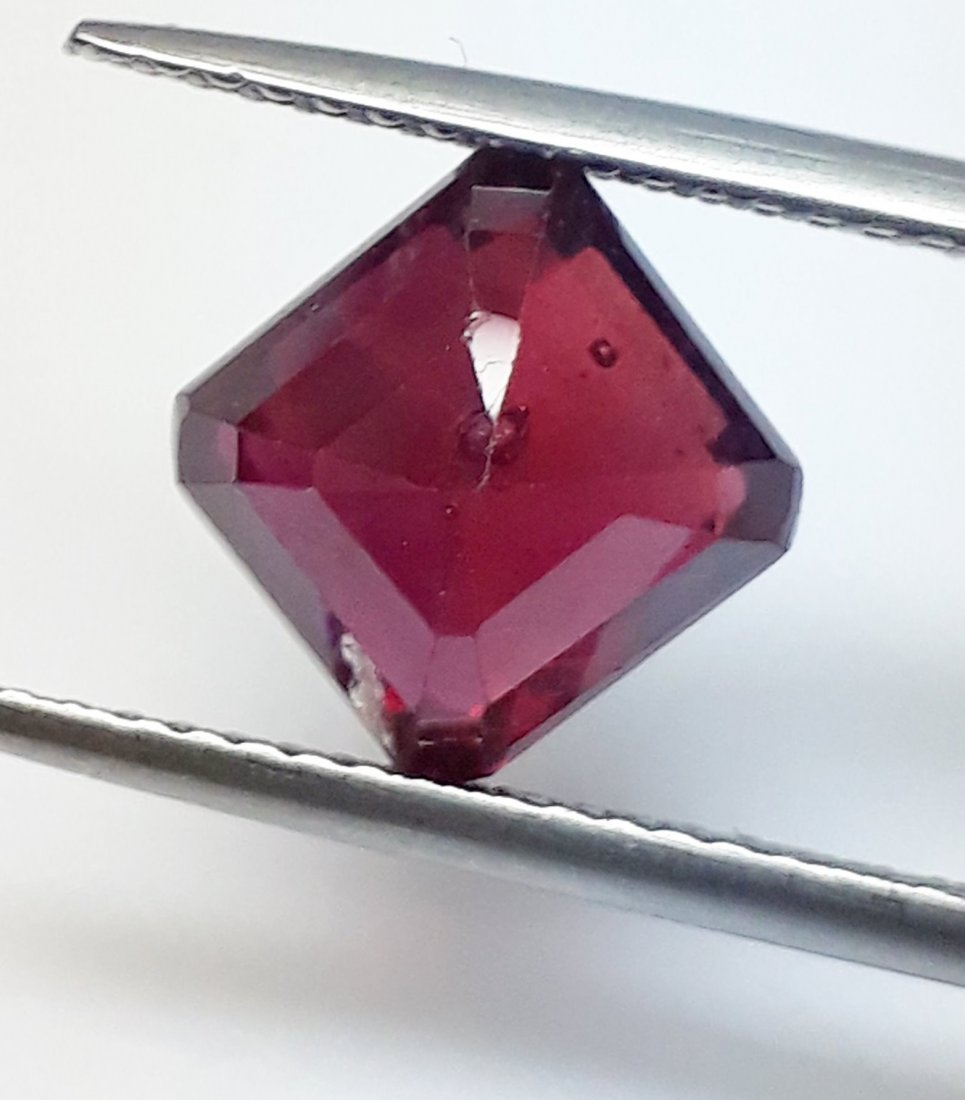 Natural Mozambique Ruby Emerald Cut - 2.93 ct. - 3