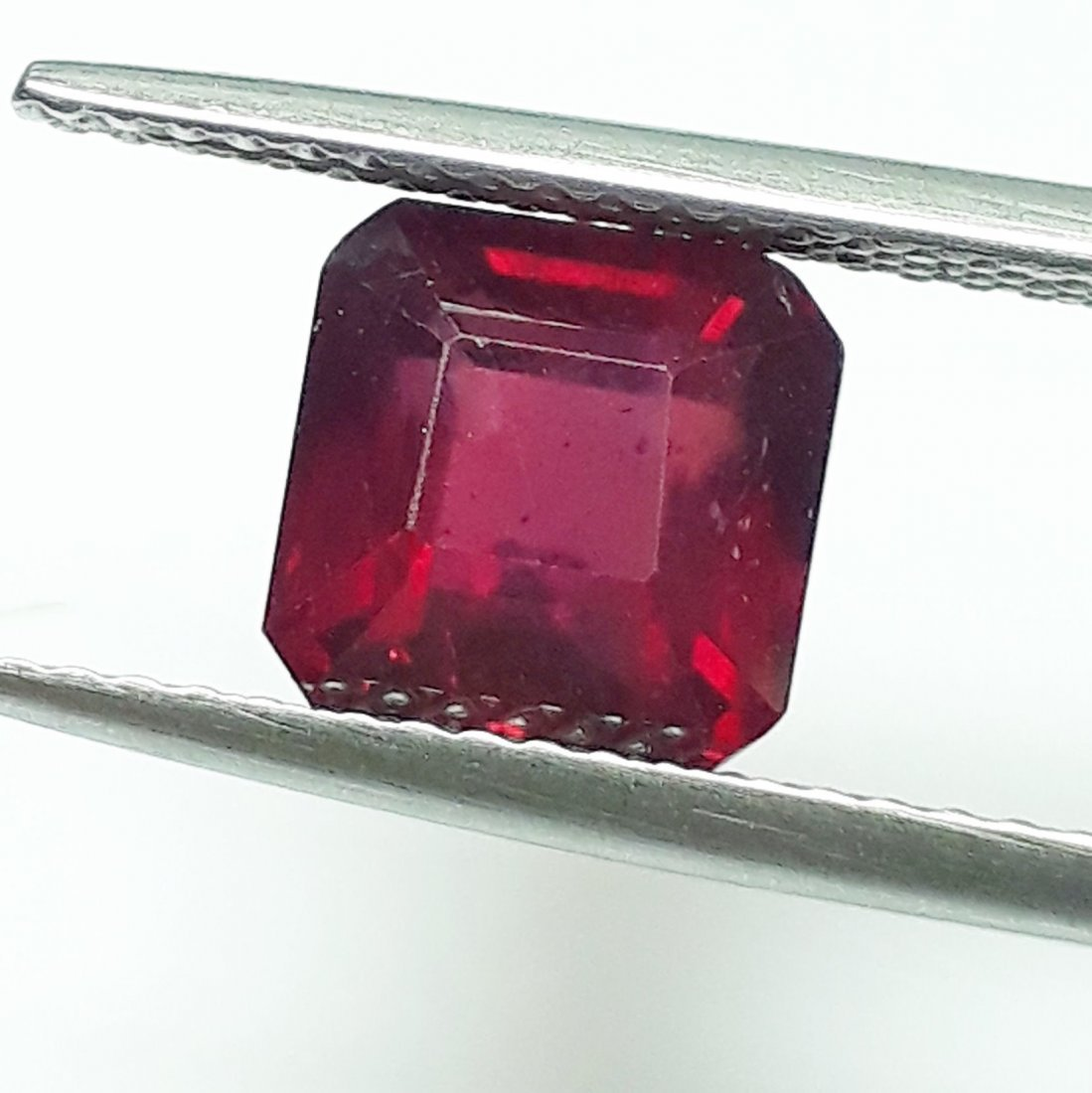 Natural Mozambique Ruby Emerald Cut - 3.24 ct.