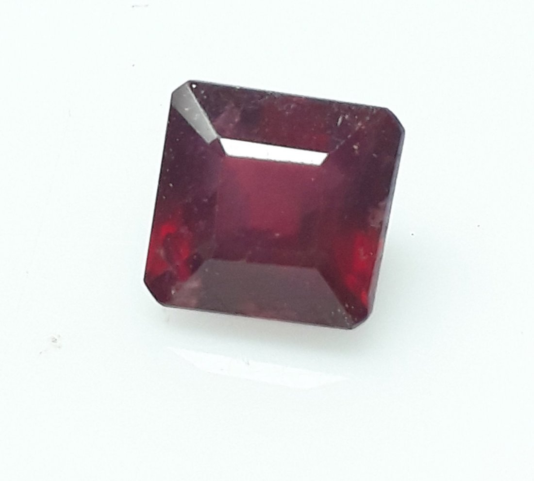 Natural Mozambique Ruby Emerald Cut - 3.24 ct. - 5