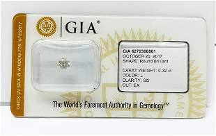 GIA Certified Diamond 032 ct L Color SI2 Round