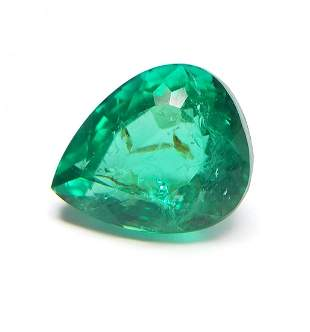 AIG Certified Natural Green Emerald 214 ct