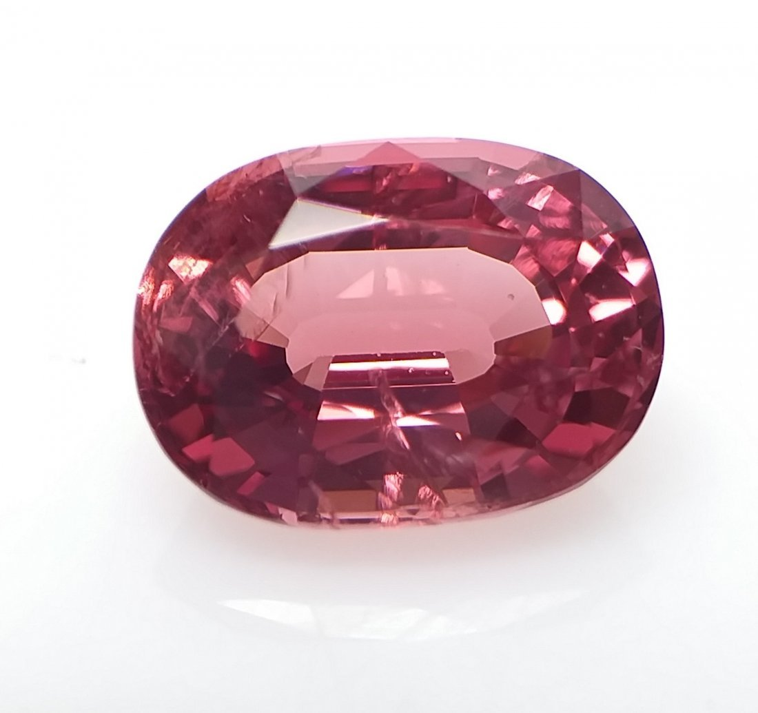 AIGS Certified Natural Spinel Orange-Pink 1.75 ct.