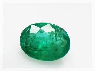 Natural Brazillian Emerald 117 ct Oval