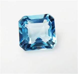 Natural Blue Topaz 495 ct Emerald Cut