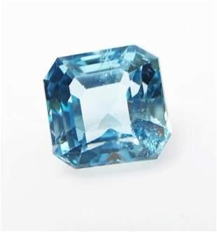 Natural Blue Topaz 459 ct Emerald Cut