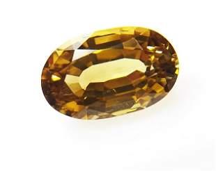 Natural Yellow Chrysoberyl 189 ct