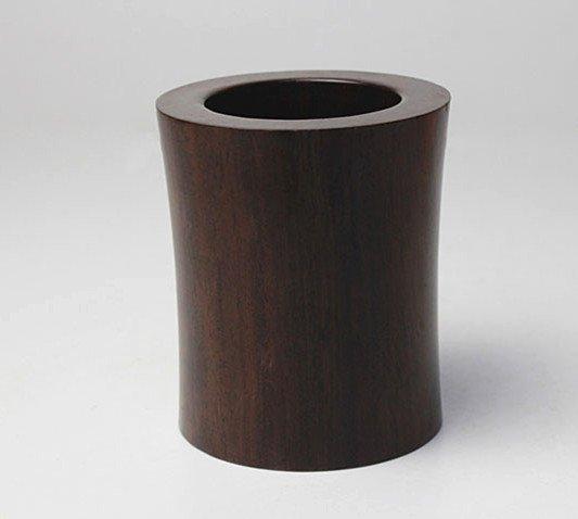 Fine VTG Chinese Zitan Wood Brush Pot