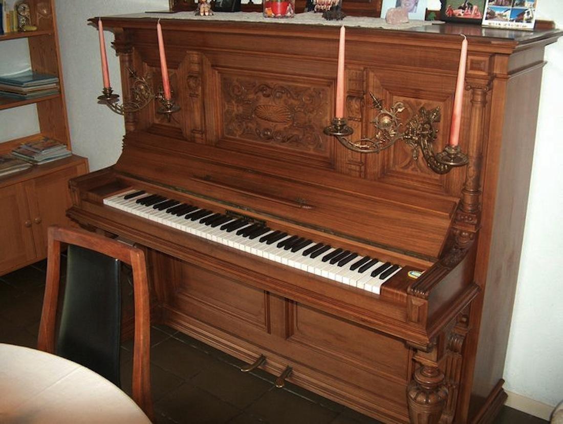 Piano / Klavier - Schiedmayer & Soehne, um 1900