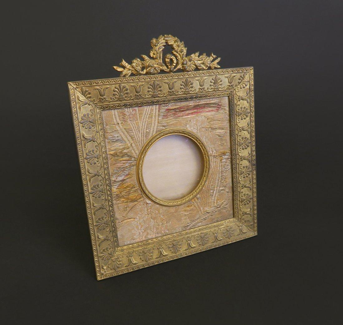 A Gilt Bronze Picture Frame