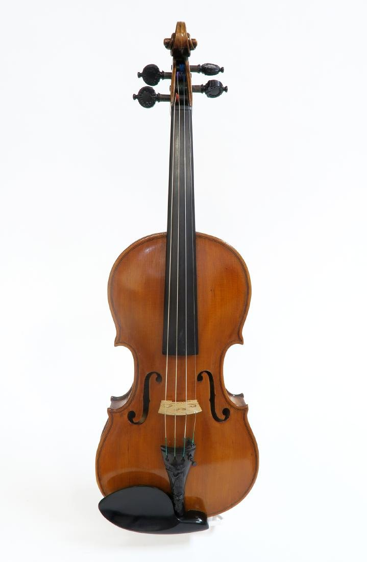 "A Violin Re-graduated By "" H.Tyler, 1915\"""