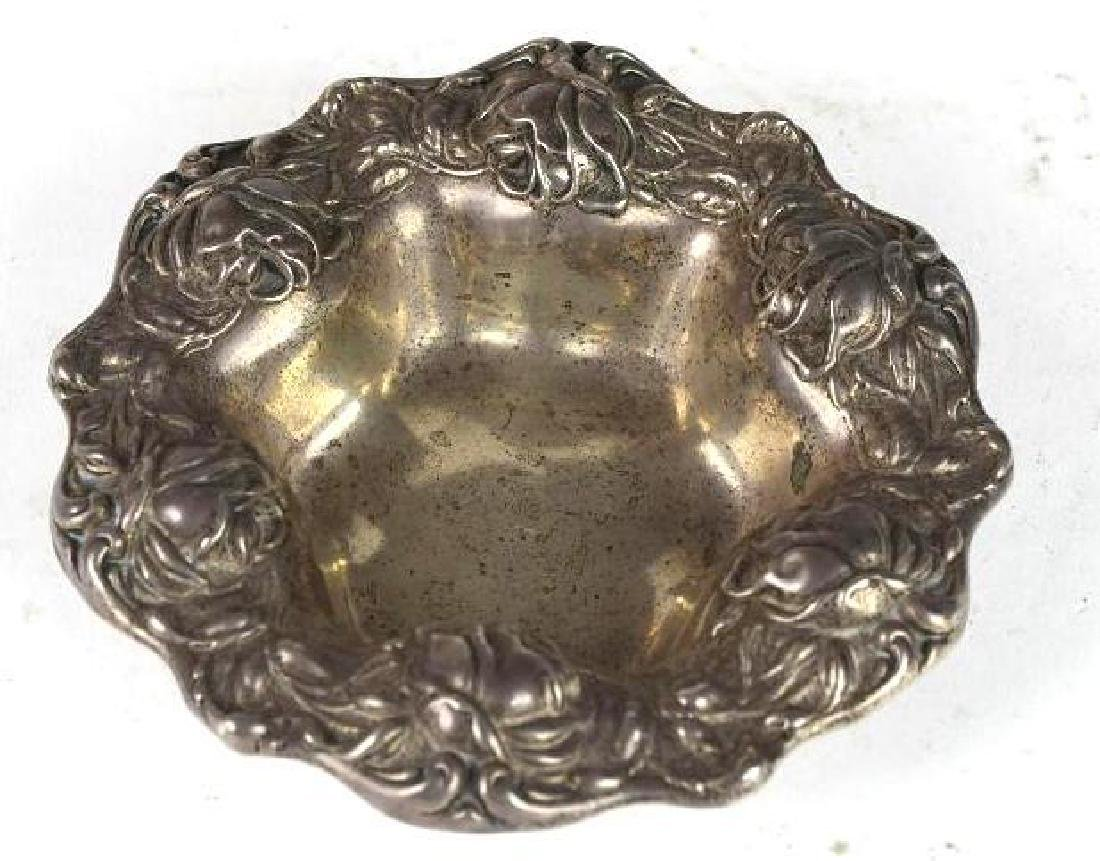 Sterling Silver Repousse Bowl
