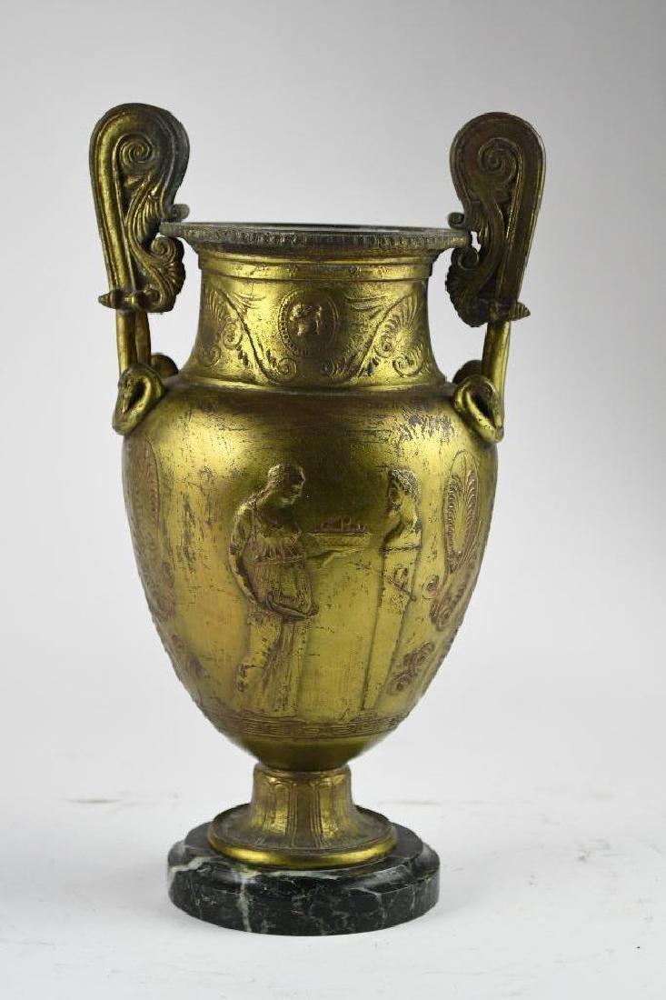 Gilt Greek Style Vase