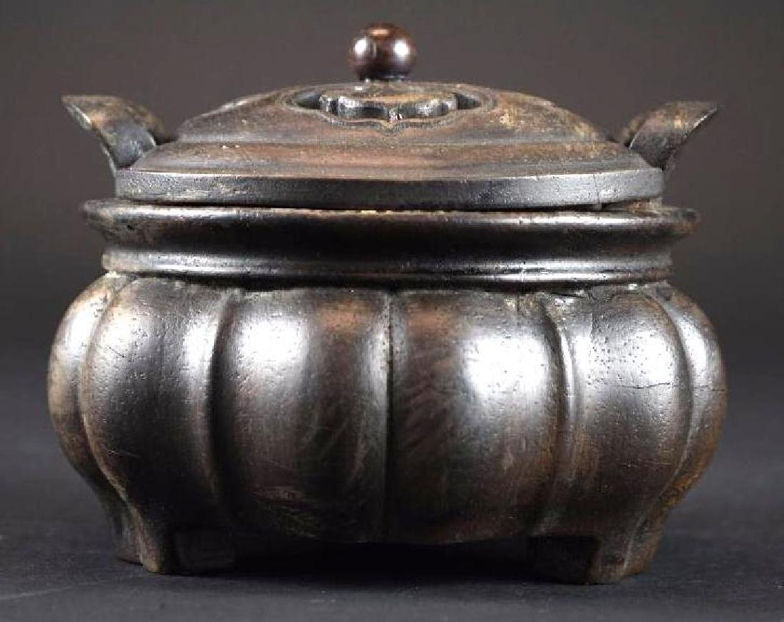 Chinese Lidded Censer