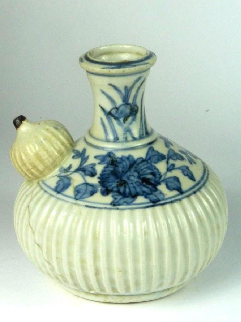 Chinese Underglaze Blue Porcelain Kendi