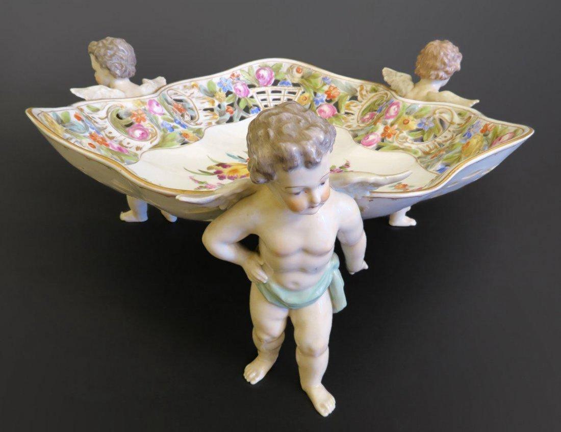 Magnificent German Figural Porcelain Centerpiece