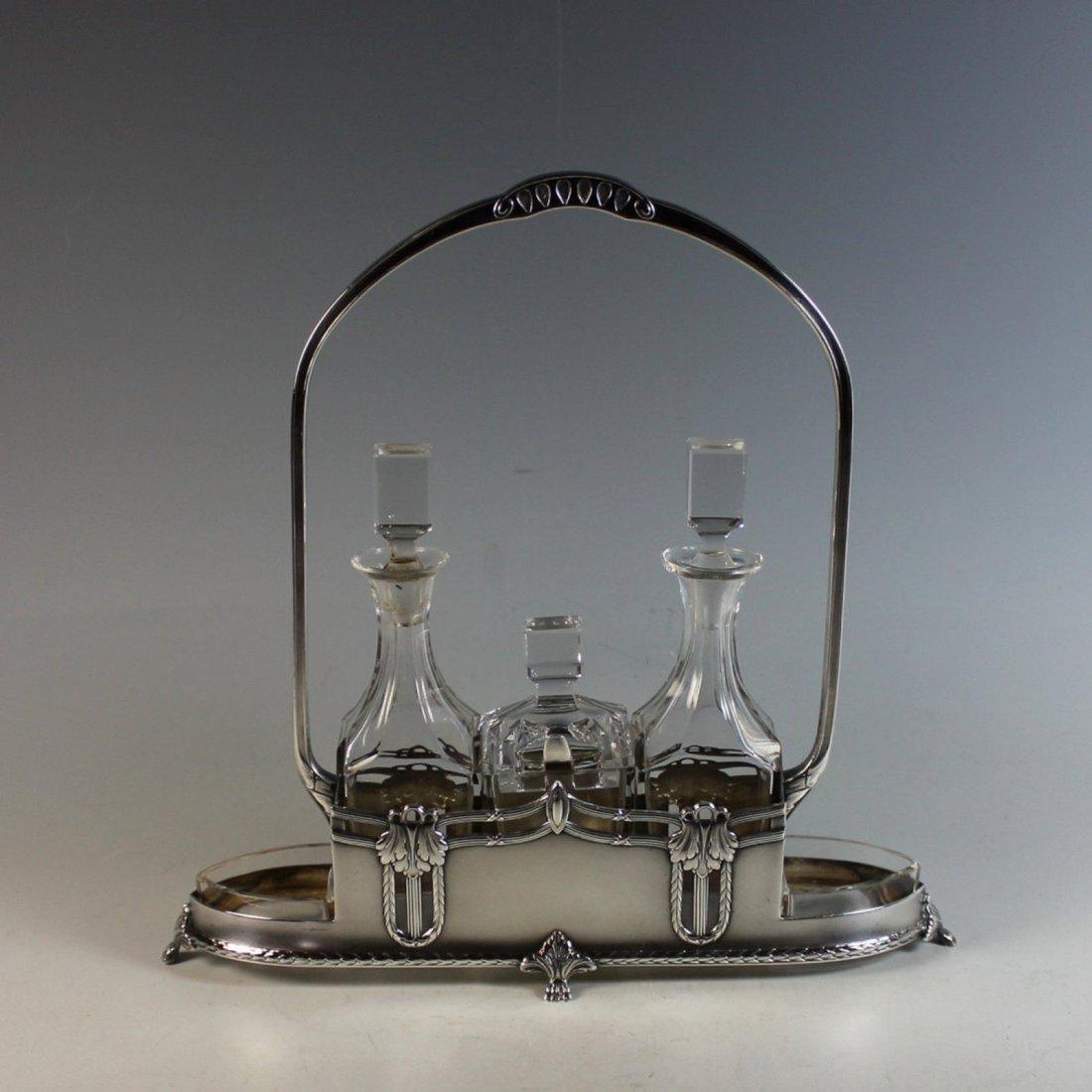 WMF Silver plate Cruet Set 1910-1918