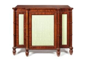 A Regency mahogany breakfront side cabinet, Gillows