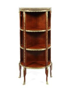 A late 19th century French etagere