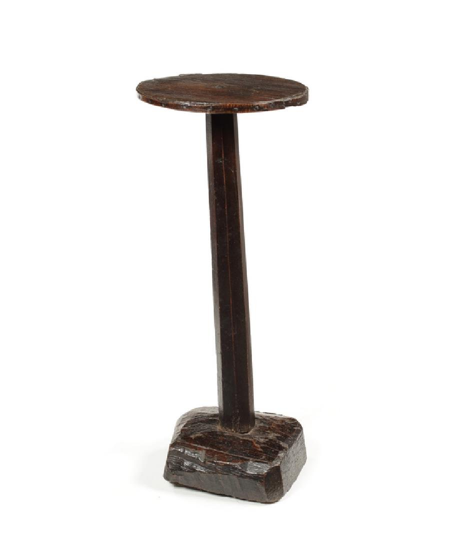 A small English candlestand, early 18th century