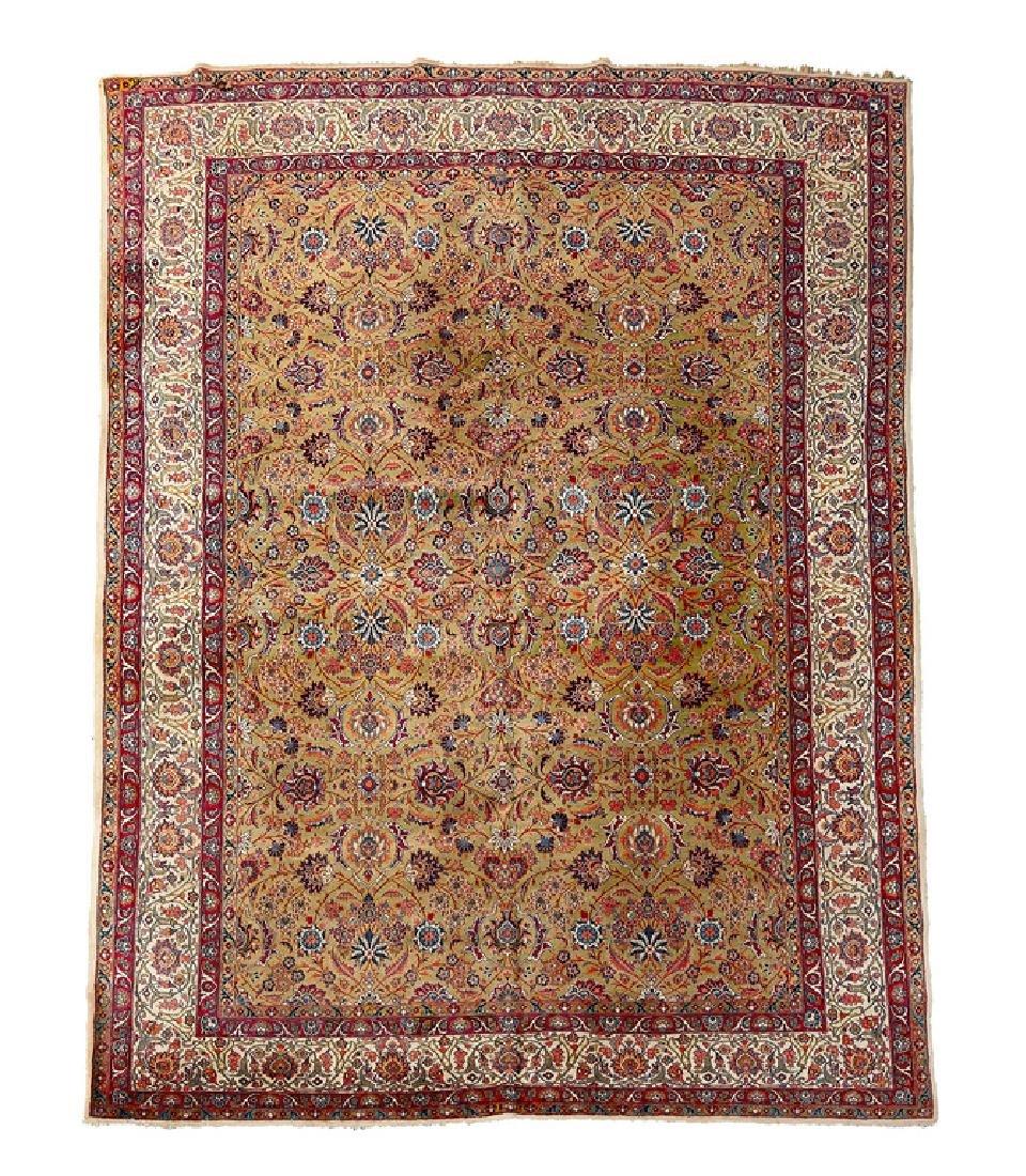 Kashan Carpet, Central Persia, circa 1920