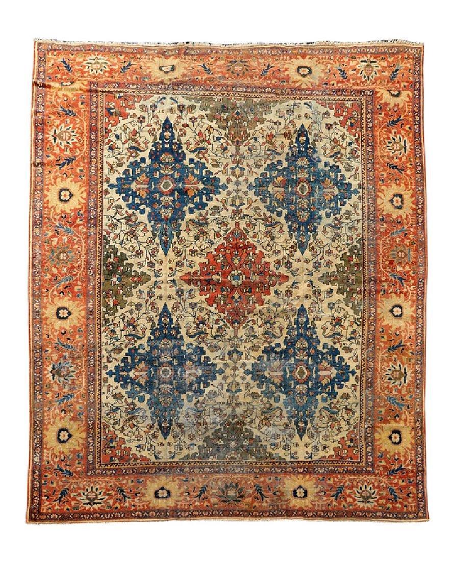 Zieglar Mahal Carpet, Central Persia, circa 1890