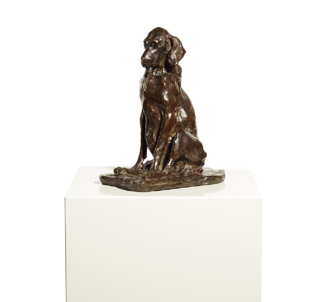Paolo Troubetzkoy (Russian, 1866–1938) bronze dog