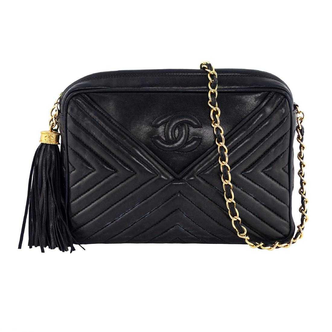 25b7b24298d9 Chanel Black Timeless Camera Bag