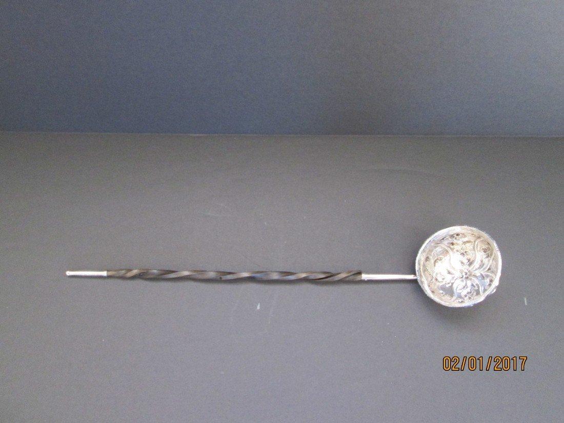 Antique punch ladle