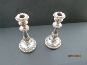 Sheffield candlesticks