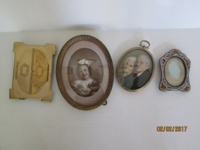 Antique and vintage picture frames